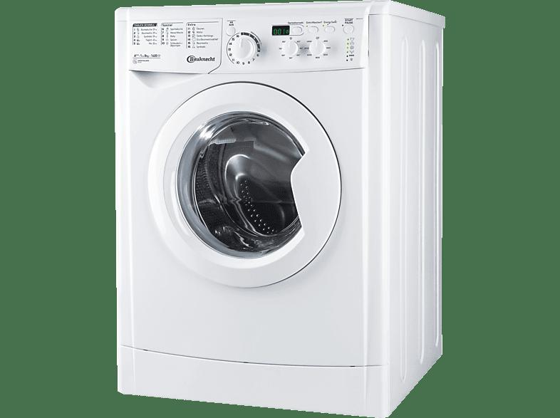 BAUKNECHT WM MT 8 IV  Waschmaschine (8 kg, 1351 U/Min., A+++)