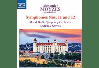 Slovak Radio Symphony Orchestra - Sinfonien 11 and 12  - (CD)