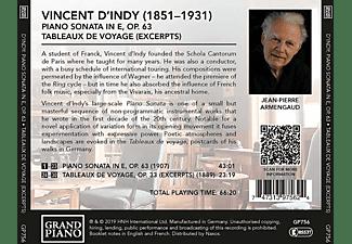 Jean Pierre Armengaud - Vincent d'Indy: Werke für Klavier  - (CD)