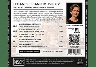 Tatiana Primak-khoury - Lebanesische Klaviermusik  - (CD)