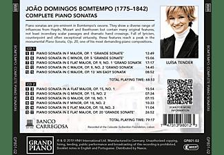 Luisa Tender - Sämtliche Klaviersonaten  - (CD)