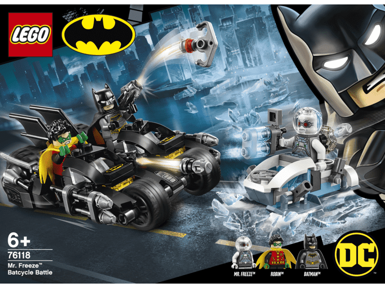 LEGO® DC Super Heroes™ Figur Mr Freeze NEU Freeze aus 76118 Batcycle-Duell Mr
