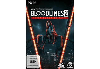 Vampire: The Masquerade - Bloodlines 2 First Blood Edition - [PC]