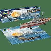 REVELL HMS Hood - 100 Jahre Bausatz, Mehrfarbig