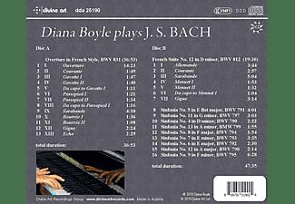 Diana Boyle - Diana Boyle spielt J.S.Bach  - (CD)