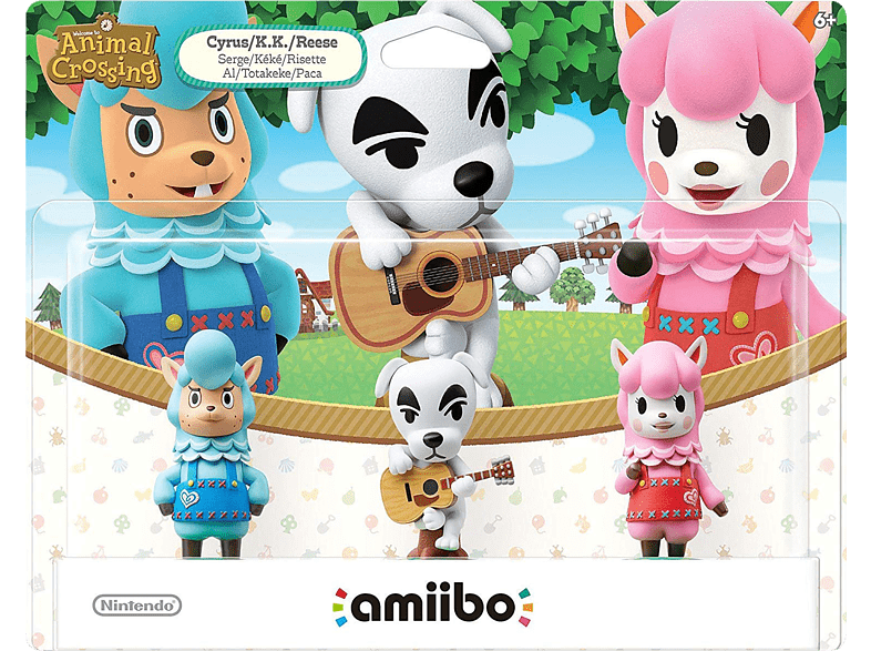 Animal Crossing 3er Figuren-Set