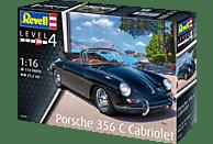 REVELL Porsche 356 C Cabriolet Bausatz, Mehrfarbig