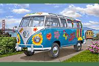 """REVELL VW T1 Samba Bus """"Flower Power"""" Bausatz, Mehrfarbig"""