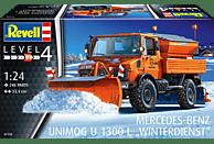 REVELL 07438 Unimog U1300L Winterdienst Bausatz, Mehrfarbig