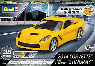 REVELL 67449 Model Set 2014 Corvett Stingray Bausatz, Mehrfarbig