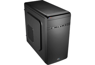 AEROCOOL QS-180 PC-Gehäuse, Schwarz