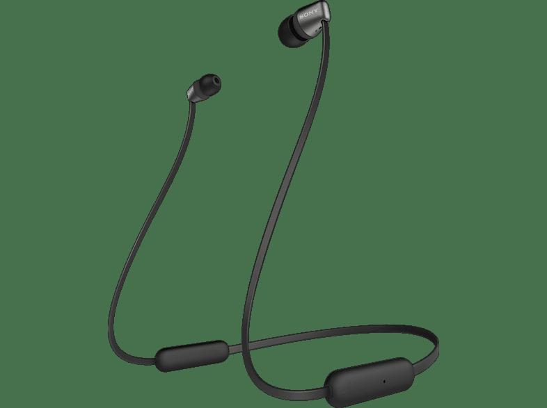 SONY WI-C310, In-ear Kopfhörer Bluetooth Schwarz