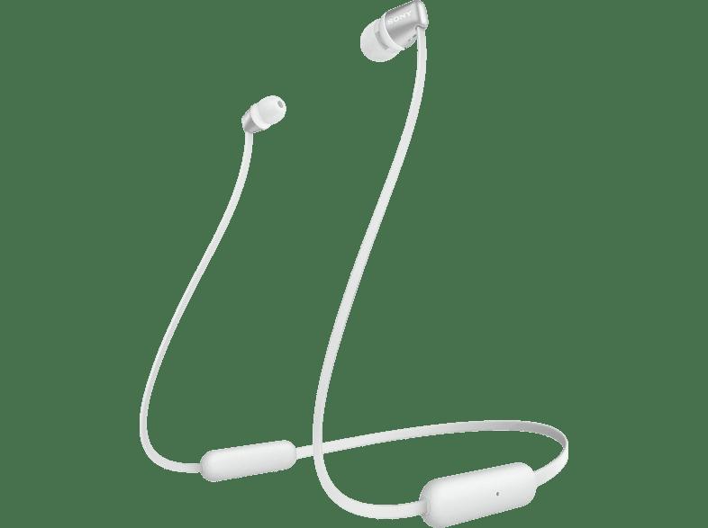 SONY WI-C310, In-ear Kopfhörer Bluetooth Weiß