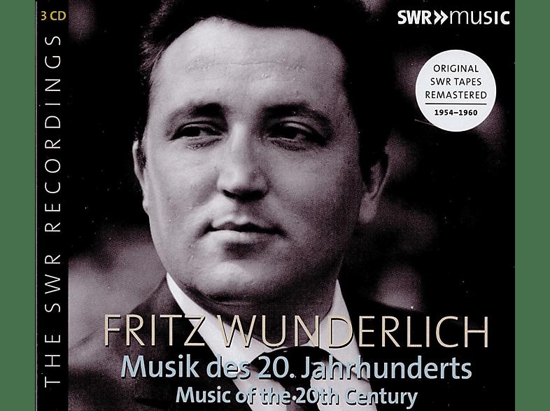 Fritz Wunderlich, VARIOUS - Fritz Wunderlich: Musik des 20.Jahrhunderts [CD]