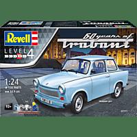 REVELL 07777 Trabant 601S 60 Years of Traban Bausatz, Mehrfarbig