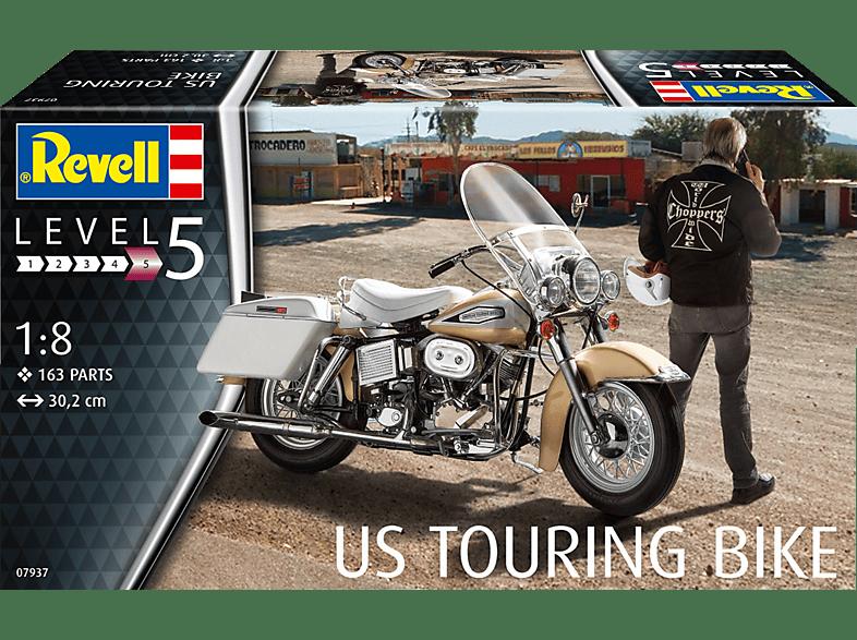 REVELL 07937 US Touring Bike Bausatz, Mehrfarbig