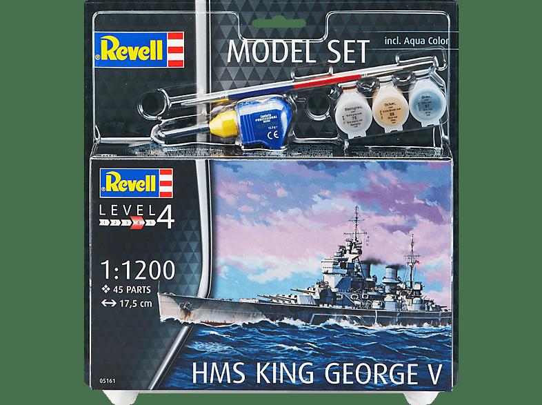 REVELL 65161 Model Set HMS King George V Bausatz, Mehrfarbig