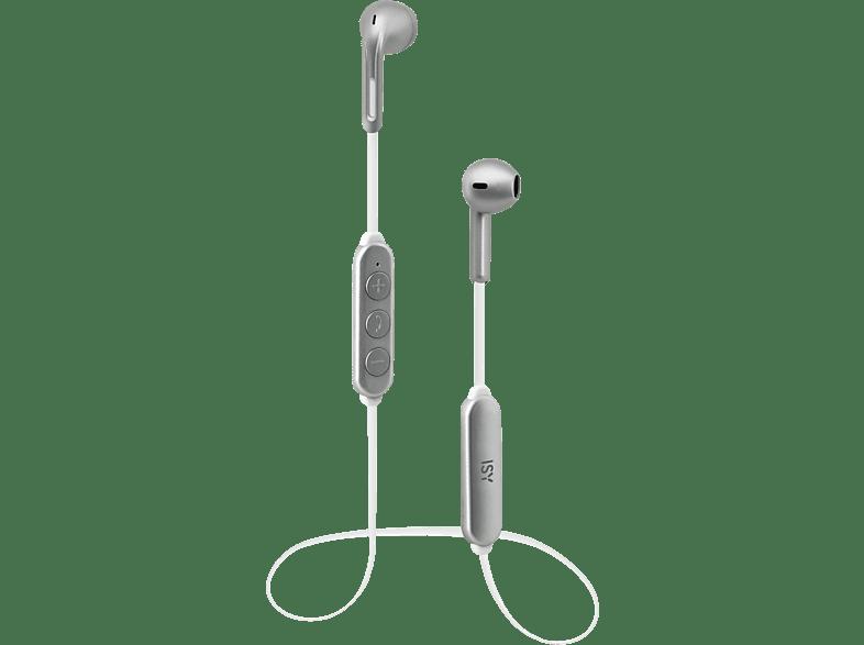 ISY IBH-3700, In-ear Kopfhörer  Silber