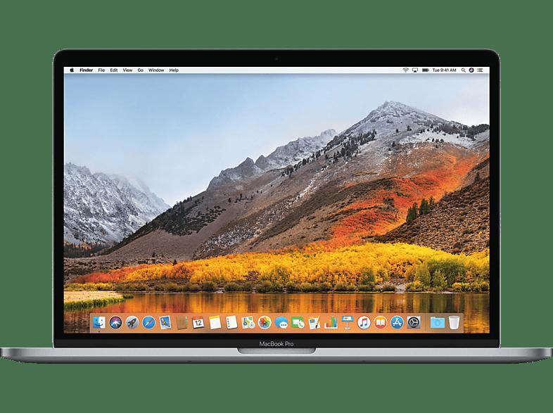 APPLE MacBook Pro MV902D/A mit deutscher Tastatur, Notebook mit 15.4 Zoll Display, Core i7 Prozessor, 16 GB RAM, 256 GB SSD, Radeon™ Pro 555X, Space Grau
