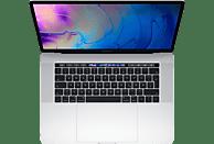 APPLE MacBook Pro MV922D/A mit deutscher Tastatur, Notebook mit 15.4 Zoll Display, Core i7 Prozessor, 16 GB RAM, 256 GB SSD, Radeon™ Pro 555X, Silber