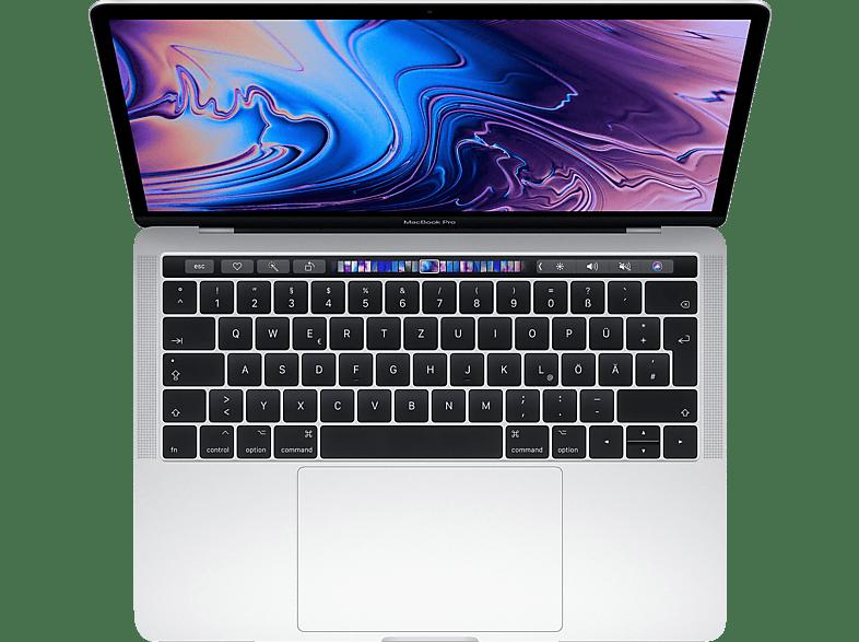 APPLE MacBook Pro MV9A2D/A mit deutscher Tastatur, Notebook mit 13.3 Zoll Display, Core i5 Prozessor, 8 GB RAM, 512 GB SSD, Intel® Iris™ Plus-Grafik 655, Silber