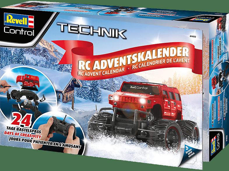 REVELL RC-Truck 2019 Adventskalender, Rot/Schwarz