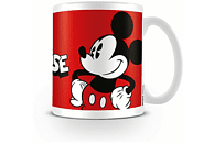 PYRAMID INTERNATIONAL Walt Disney's Mickey Mouse Tasse, Weiß/Rot