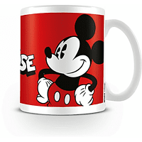 PYRAMID INTERNATIONAL Walt Disney's Mickey Mouse Tasse, Weiß/Rot