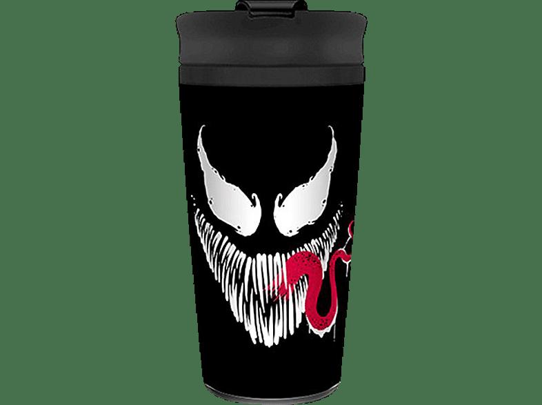 "PYRAMID INTERNATIONAL Venom Travel Mug ""Face"" Reisebecher, Mehrfarbig"