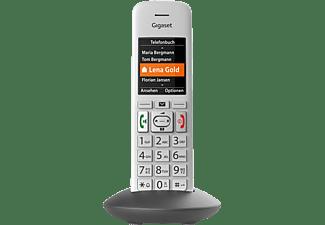 GIGASET E 370 HX Schnurloses Telefon, Silber