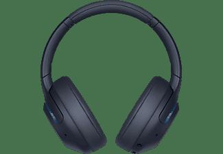SONY Bluetooth Kopfhörer WH-XB900N Over-Ear, kabellos, Noise Cancelling, blau