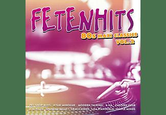 VARIOUS - Fetenhits-80s Maxi Classics Vol.2  - (CD)
