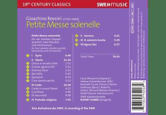 SWR Vokalensemble - Petite Messe Solennelle  - (CD)