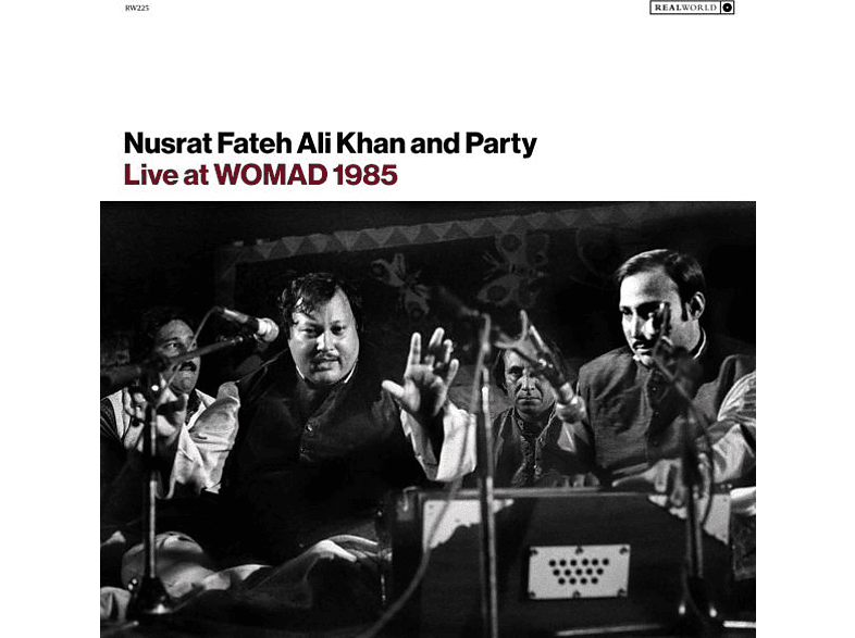 Nusrat Fateh Ali & Party Khan - Live At WOMAD 1985 [Vinyl]