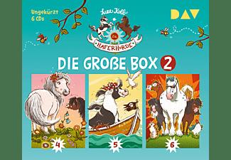 Suza Kolb - Die Haferhorde-Die große Box 2 (Teil 4-6)  - (CD)