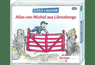 Astrid Lindgren - Alles von Michel aus Lönneberga  - (CD)