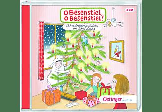 Sabine Ludwig - O Besenstiel,o Besenstiel! Weihnachtsbaumgeschich  - (CD)
