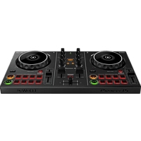PIONEER Pioneer DJ Smarter DJ-Controller DDJ-200  DJ-Controller (Schwarz)