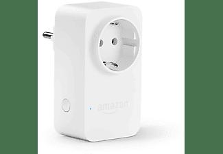 Enchufe inteligente - Amazon Smart Plug, Compatible con Alexa, Wi-Fi, Domótica, Blanco