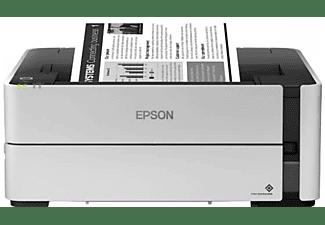 Impresora multifunción - Epson EcoTank ET-M1170, Depósito de tinta, 20 ppm, Wi-Fi, Monocromo, Gris