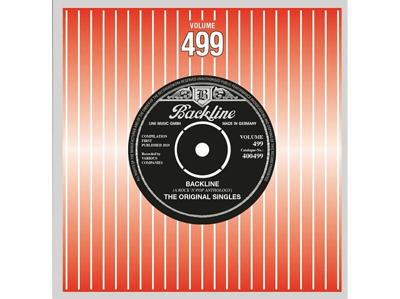 VARIOUS - Backline Vol.499 [CD]