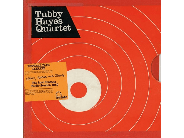 Tubby Quartet Hayes - Grits,Beans And Greens: The Lost Fontana Sessions [Vinyl]