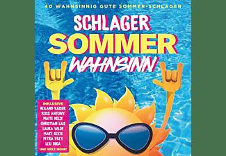 VARIOUS - Schlager Sommer Wahnsinn  - (CD)