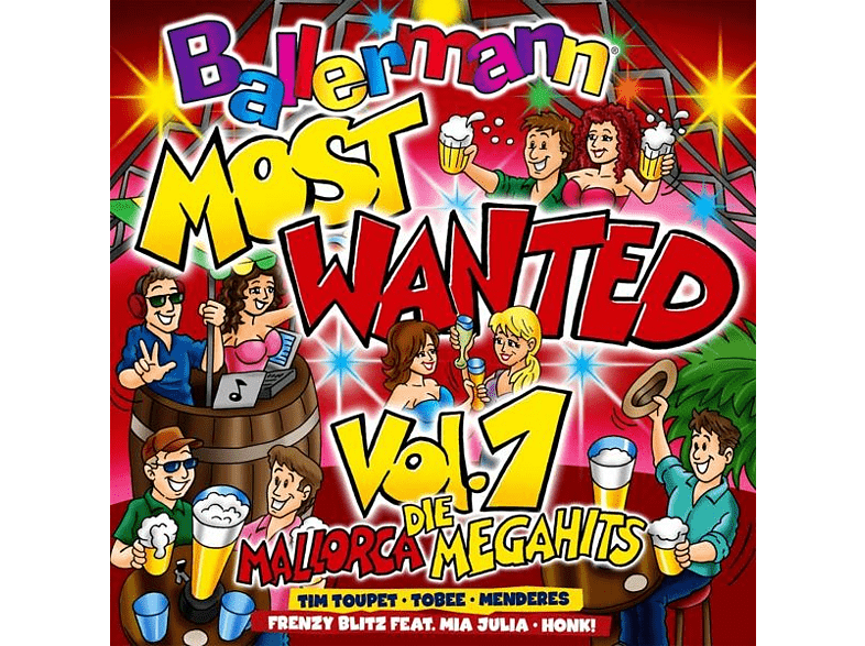 VARIOUS - Ballermann Most Wanted Vol.1 Die Mallorca Megahits [CD]