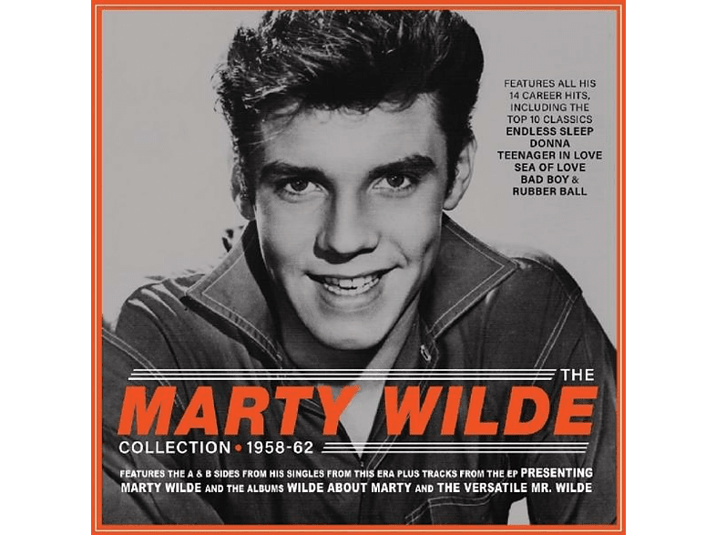 Marty Wilde - THE COLLECTION 1958-1962 [CD]