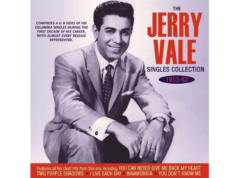 Jerry Vale - THE COLLECTION 1953-1962 [CD]