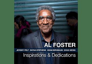Al Foster - INSPIRATIONS & DEDICATION  - (CD)