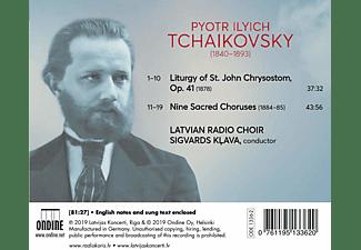 Latvian Radio Choir - Liturgy of St.John Chrysostom  - (CD)