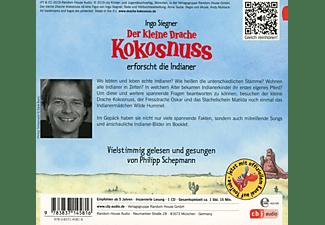 Philipp Schepmann - Der Kleine Drache Kokosnuss-Erforscht Die Indianer  - (CD)