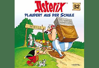 Asterix - 32: Asterix Plaudert Aus Der Schule  - (CD)